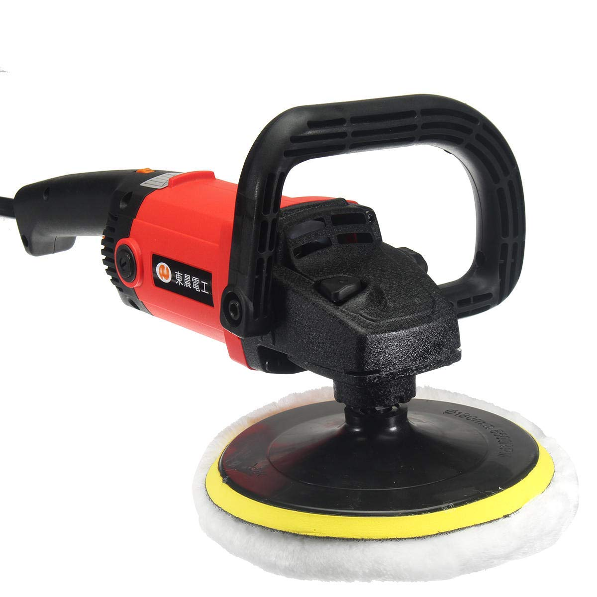 220V 1200W Electric Polisher Buffer Waxing Machine Electric Detailing - Power Tools Electric Polisher - 1 x Car Polisher & Buffer