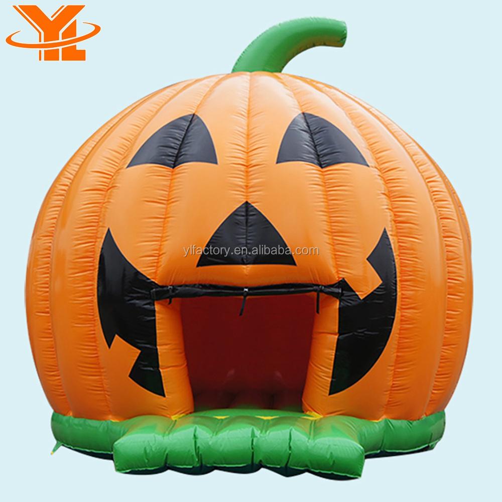 Pumpkin Halloween Inflatable Bounce House Rentals Halloween Jumpers