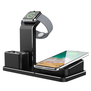 Hotel Smart Watch Embedded Qi 3In1 All In One Phantom Invisible Wireless Charger Multiple