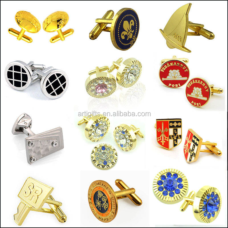 High performance vintage swank cufflinks with mood type