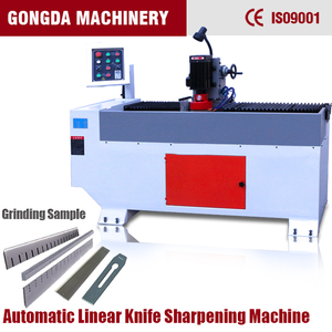 Automatic long size knife blade cutter grinder GD-1500 long linear knife blade sharpening machine