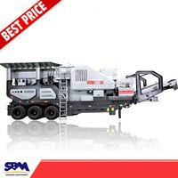 Easy install Free shipping trailer mobile crushing plant