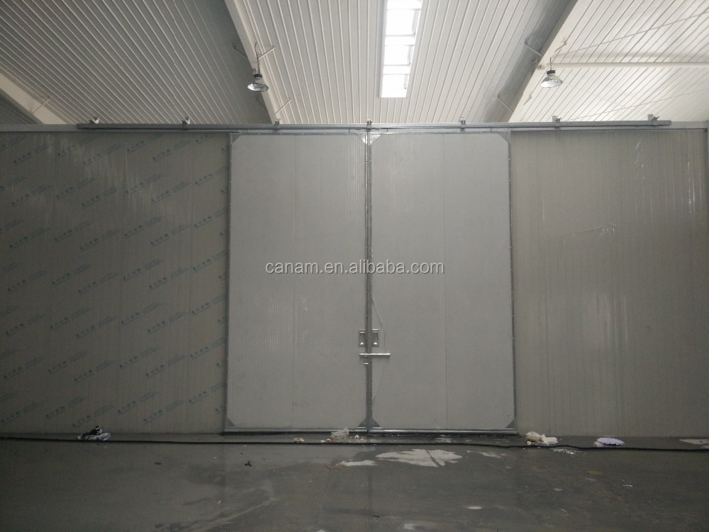 China supplier automatic warehouse industrial sliding door