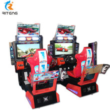 Indoor amusement 3D outrun 2 maximum tune wangan midnight arcade game machine+racing car driving simulator+games video