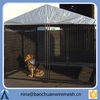 Welded mesh wire dog kennel easy to clean