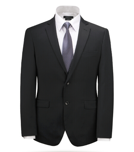 Mens Black Suits Dropship Single Breast High Quality Jacket and Pants Skinny Slim Fit Business Suit Cheap