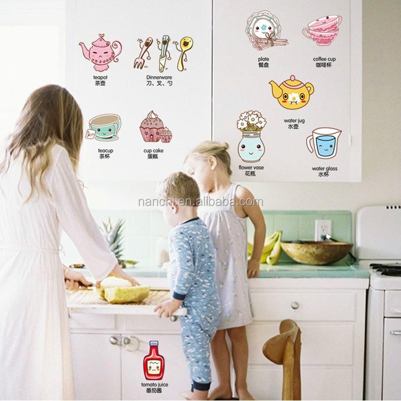 Venta al por mayor decoracion en vinilo para heladeras-Compre online ...