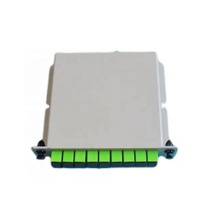 1*8 ports fiber optical plc splitter