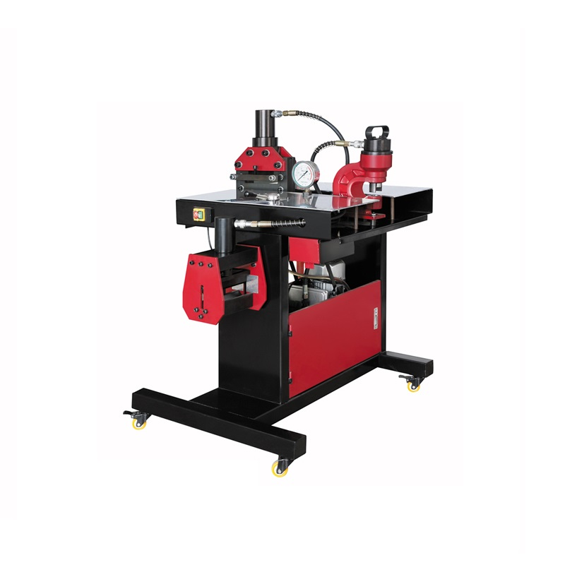 DHY-200 3 in 1 Muti-function Hydraulic Busbar Processor Machine