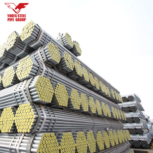 large diameter hot dipped galvanized steel pipe DN 50mm size 2 inch gi pipe price