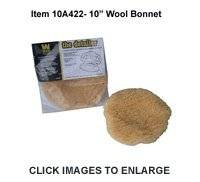 """10"""" Wool Blend Bonnet for Buffing and Wax Removal"""