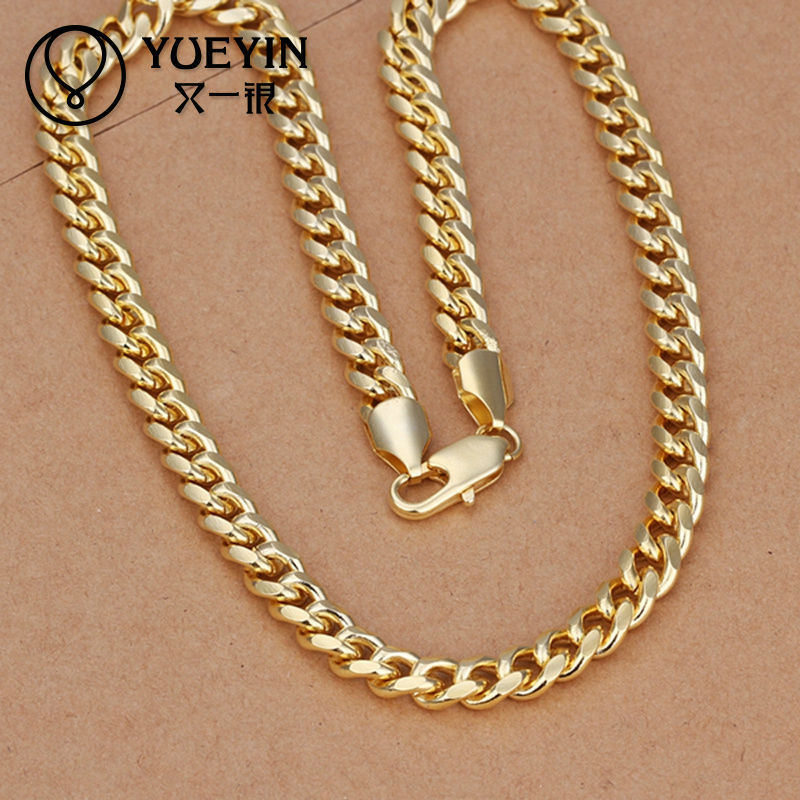 2014 chunky italian 14k gold filled chain