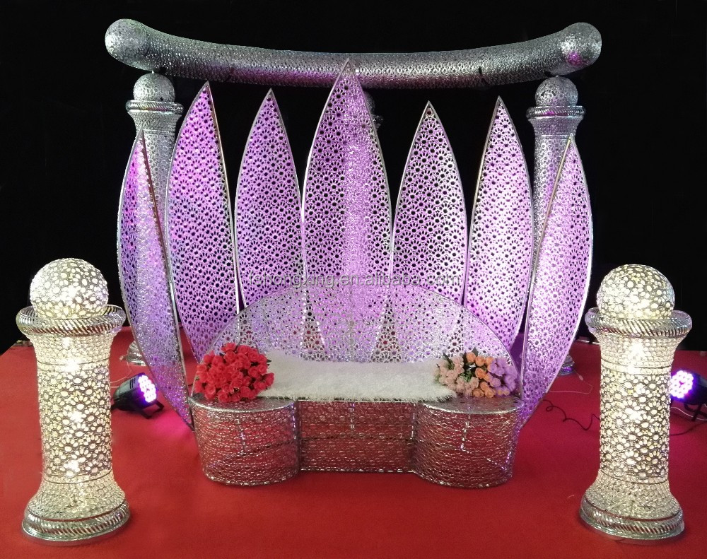 Wedding Stage Decorative Bride And Groom Chair Sofa Decoration