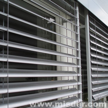 Wireless Remote Electric outdoor venetian blind, external venetian blind, exterior venetian blind