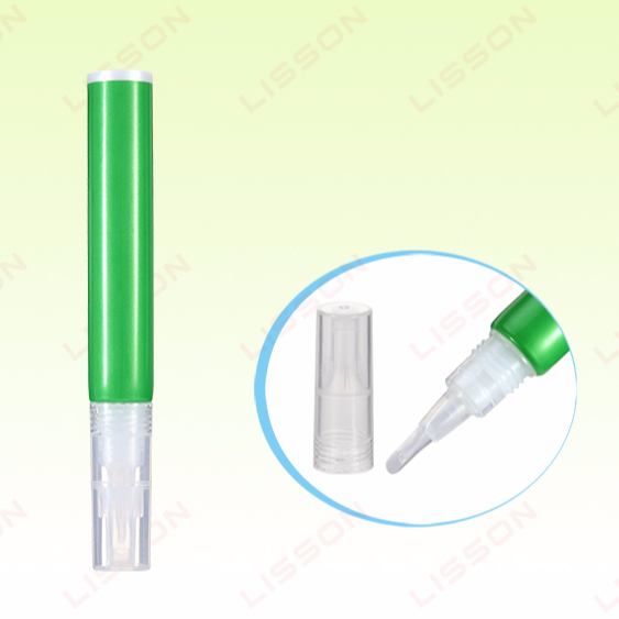 D16mm Lip Stick Soft Flat Rubber Brush Plastic Cosmetic Empty Tube