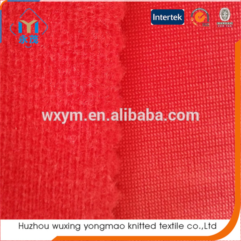 custom tricot brushed fabric lining for insole shoe material,helmet, car interior fabric
