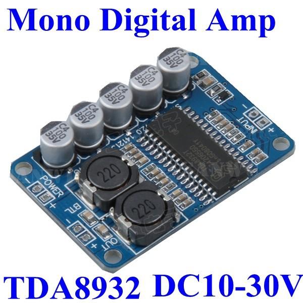 Tda8932 mono digital audio power amplifier circuit pcb board module tda8932 mono digital audio power amplifier circuit pcb board module 35w dc24v 10 30v 8ohm 4ohm 6ohm buy mono digital amplifier boarddigital audio power altavistaventures Image collections