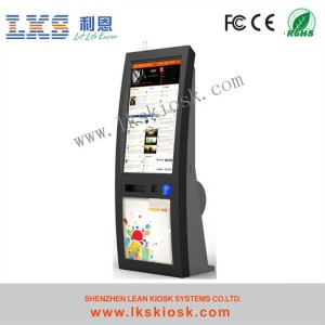 Payment Self Service Alibaba Kiosk Cabinets With Thermal Printer