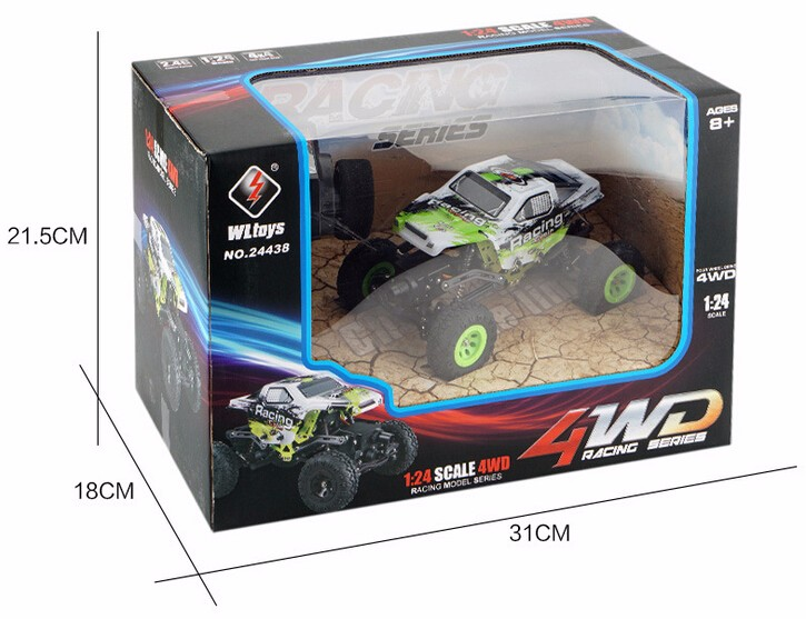 Wltoys 24438 rc truck off-road 1/24 4wd electric power rc rock crawler for sale