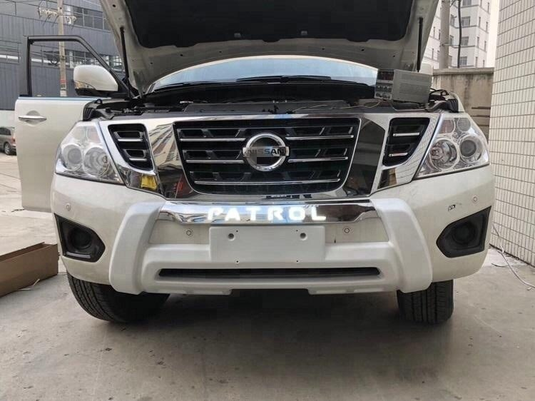 Bumper Guard For Suv >> Wholesale Auto Accessory Auto Front Bumper Protector Guard With Led
