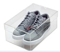 wholesale cheap clear acrylic shoe sneaker box