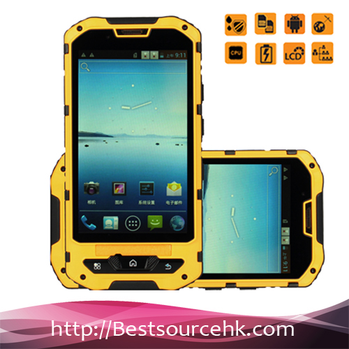 A8 rugged smartphone dual sim android ip68 water proof cell MTK6582 mobile phones shock proof