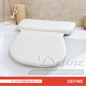 New Design Spa Bath Pillow with Suction Cups
