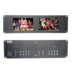 Lilliput 7 inch rack mount broadcast HD LCD monitor for professional film