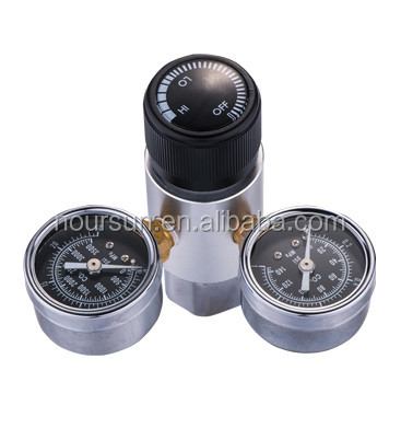 Professional Compact Dual Gauge CO2 regulator for the Planted Aquariums