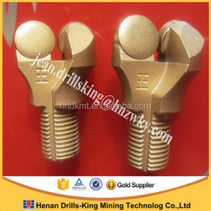 Coal mining pdc button bit for hard rock 27mm 28mm 32mm drill bit