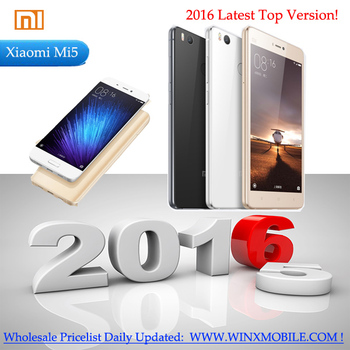2016 New Xiaomi Mi 5 Mobile Phone Price 3gb+128/64gb Android Phone ...