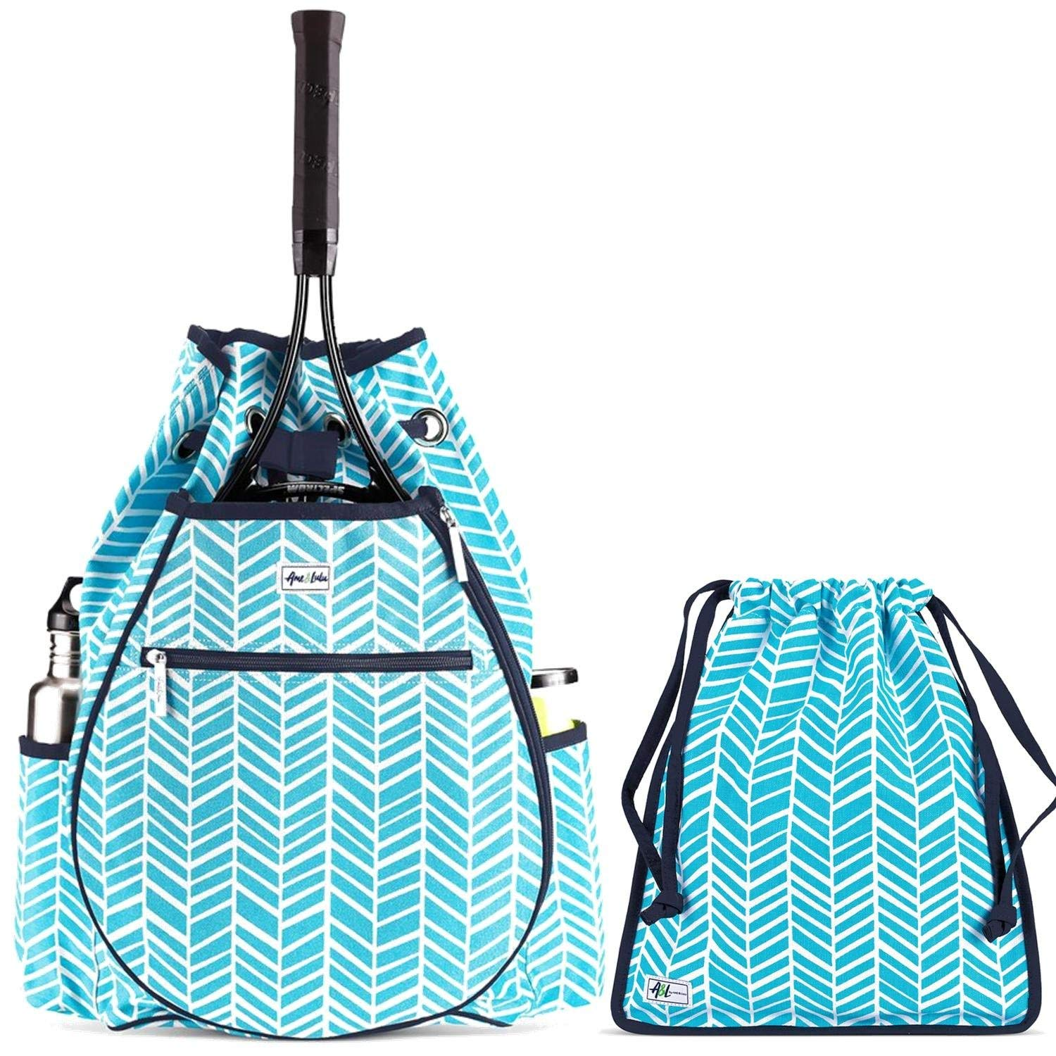 38a8ac0566 Get Quotations · Ame   Lulu Kingsley Women s Tennis Backpack and Matching  ...