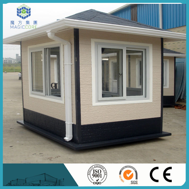 kit ready made luxury prefab house building prefabricated sentry box for wholesales