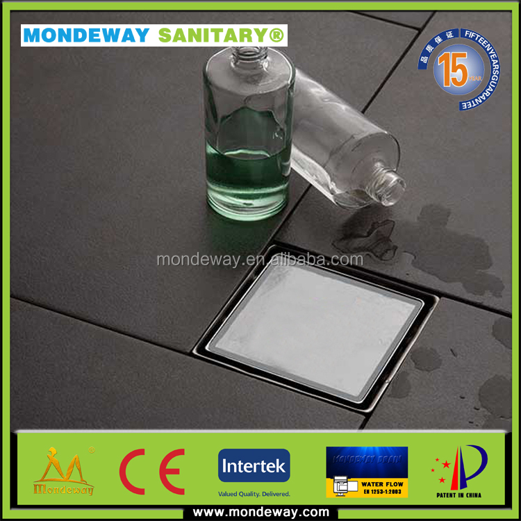 MONDEWAY stainless steel 304 drainage trap or shower channel strainer plastic drain cover