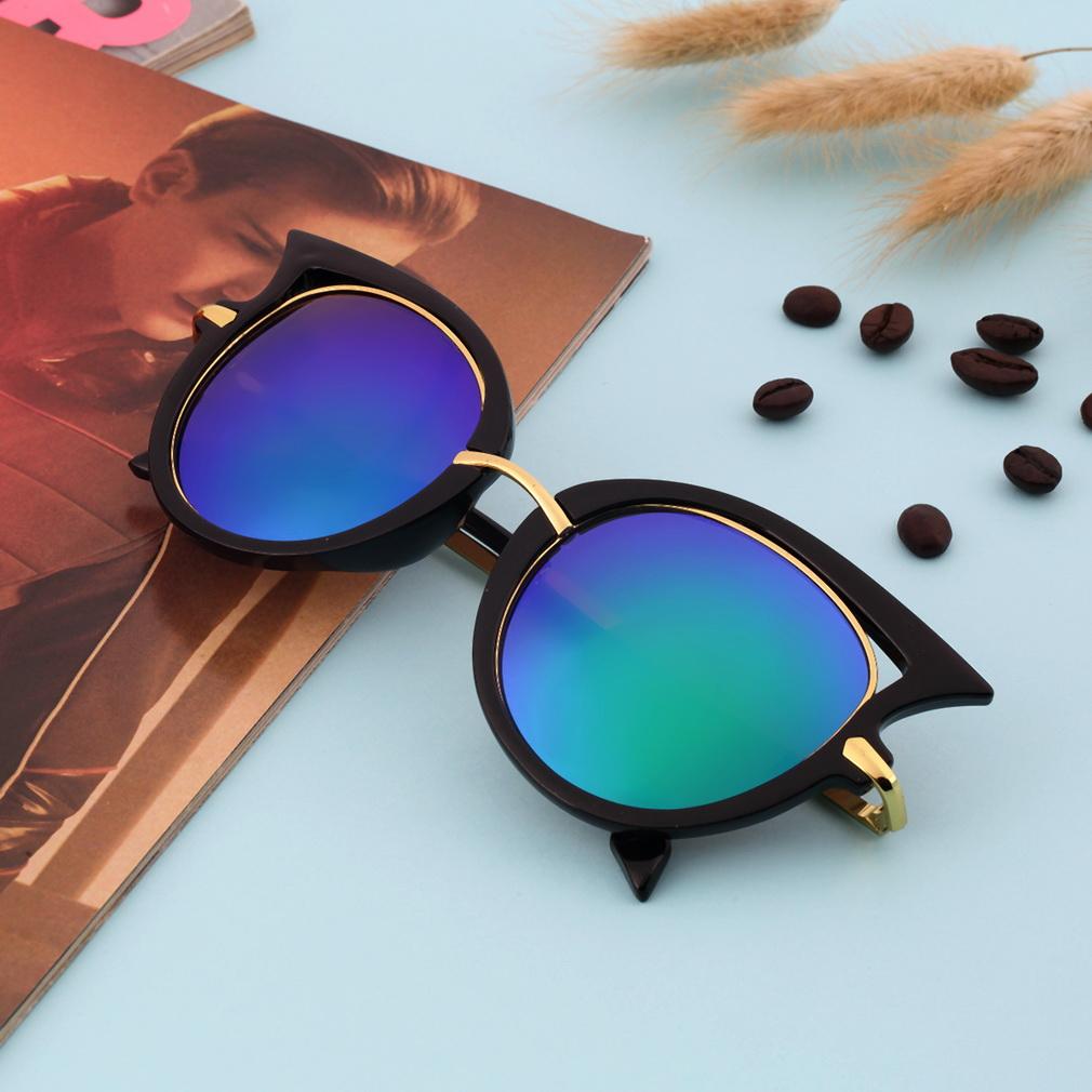 24afe15c99df Fashion Retro Metal Frame Sexy Cat Eye Sunglasses for Women Coating Brand  vintage sun glasses female oculos de grau femininos