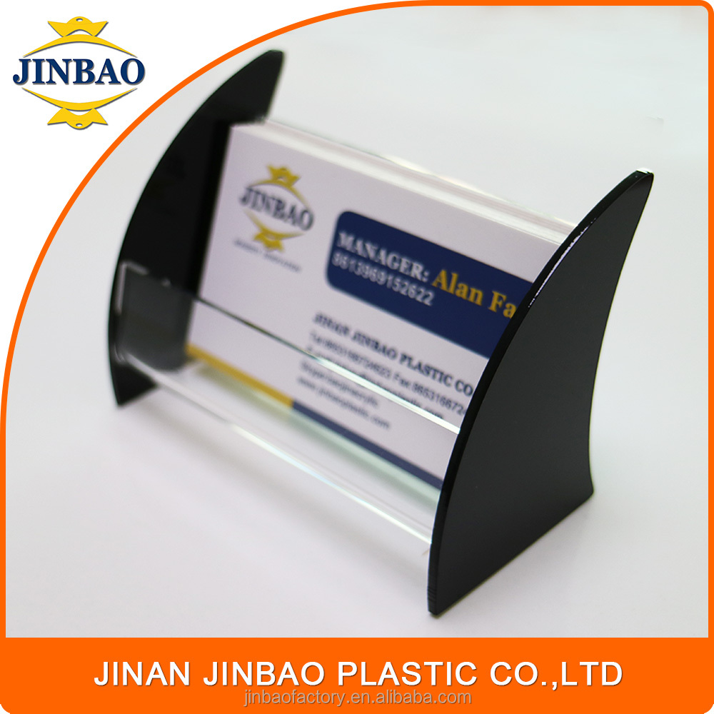JINBAO 2017 best sale acrylic 5x7 sign holder business card holder