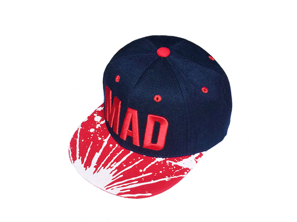 2017 Trend Hat Snapback Cap Children Embroidery MAD Letter Baseball Caps Kid Boys And Girls Flat Hip Hop Cap