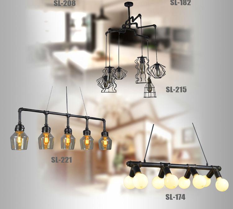 modern industrial pendant lighting. Indoor American Droplight Modern UFO Gold Singlehead Home Industrial Chrome Vintage Glass Pendant Lamp Lighting D