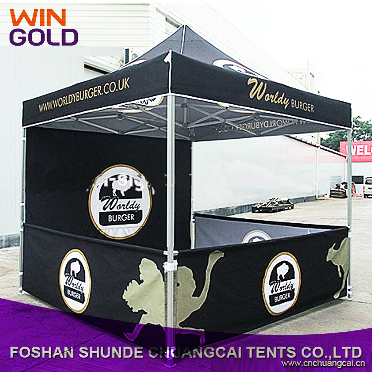 10x10 Cheap Customized Printed Canopy Tent Folding For Promotional And Advertising