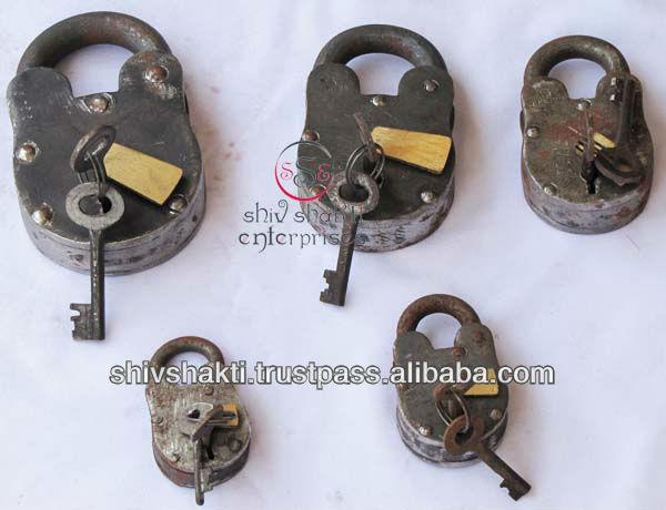 Antique Nautical Lock Set, Door lock set