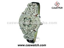 queen diamonds monster watches with hollow flip