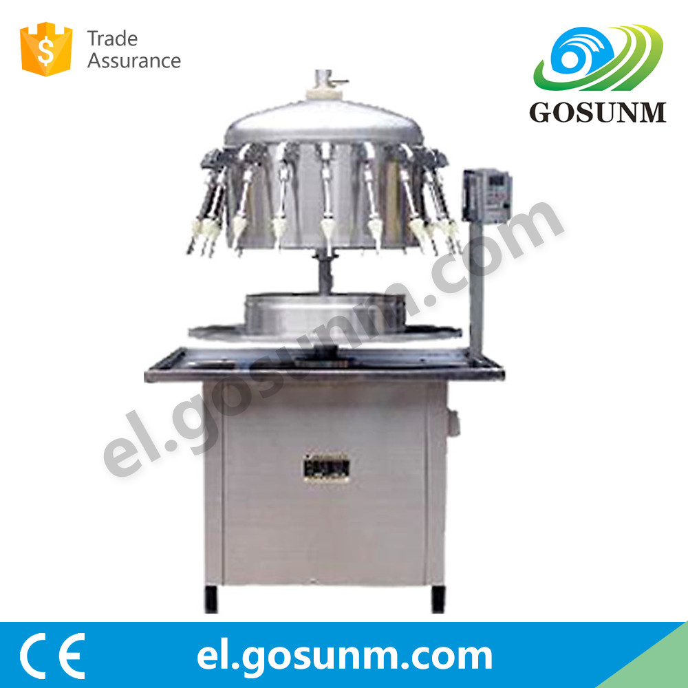 2016 hot selling products 0.37KW automactic siphon oil filling machine