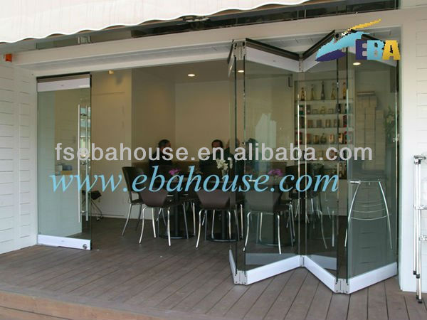 Exterior Frameless Folding Glass Doors With As2047,Ce German Style Folding  Partition Wall Folding Door   Buy Frameless Folding Glass Doors,Folding  Partition ...