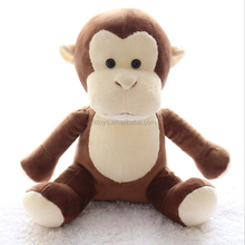Safe soft material cartoon cute monkey with high quality plush toys