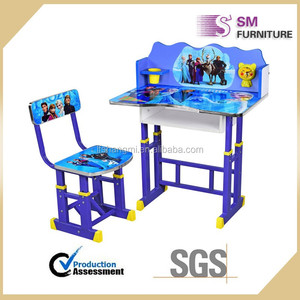 Children cheap adjustable child reading table and chair for learning
