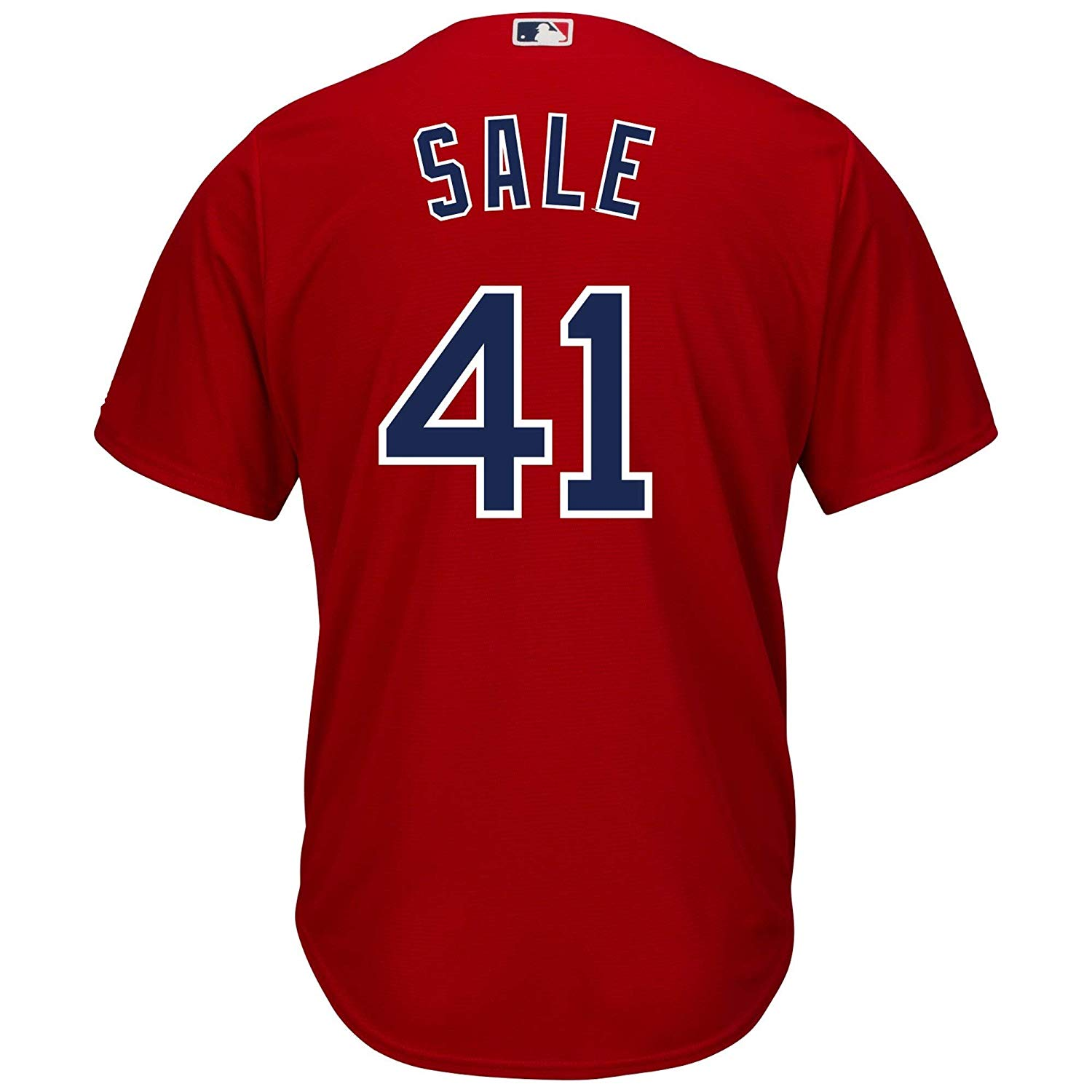 Get Quotations · Outerstuff Chris Sale Boston Red Sox Red Youth Cool Base  Alternate Replica Jersey 5ba96130d