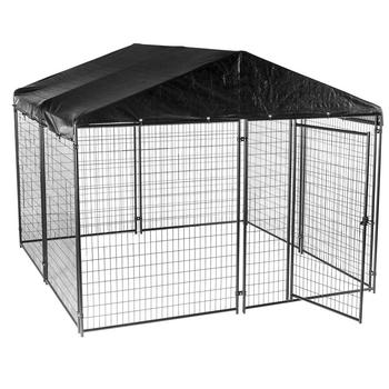 China Wholesale Welded Wire Mesh Large Dog Cage / Dog Run Kennels ...
