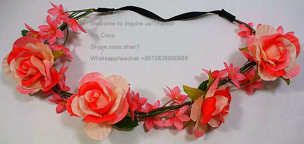 Economic and Reliable flower headband crown With Long-term Service