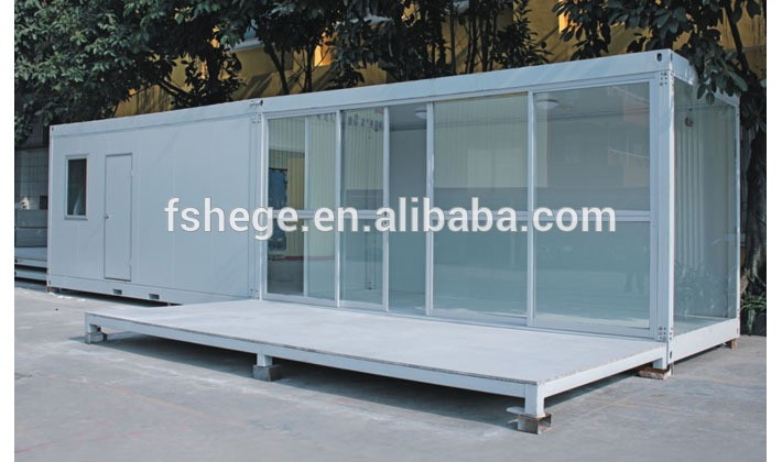 Flat packed container house sandwich panel container cabin - Sandwich panel homes ...