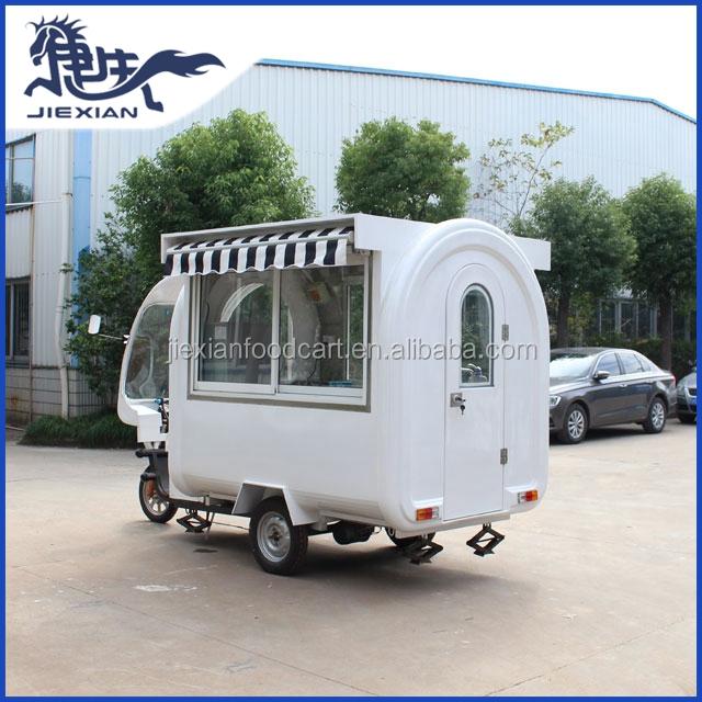 Jx Fr220gh Shanghai Jiexian High Quality Electric Food Van